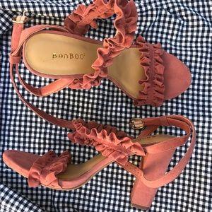 BAMBOO Shoes - Picnic heels ❣️